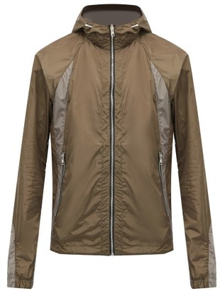 Arnar Mar Jonsson - Reversible Mesh Hooded Jacket - Silver