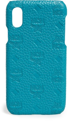 MCM Tivitat Leather iPhone X / XS Case