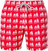 Capricode - stone print swim shorts - men - Nylon - S