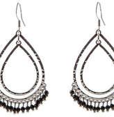 Oasis Teardrop Hoop Earrings