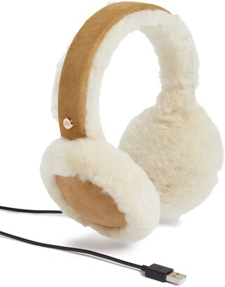 UGG Collection Genuine Shearling Bluetooth® Earmuffs