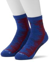 adidas Men's 2-Pack climalite Compression Frequency High-Quarter Socks