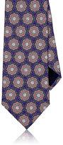 Ermenegildo Zegna Men's Floral Silk Necktie-PURPLE