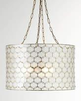 Horchow Felicity Capiz 3-Light Pendant