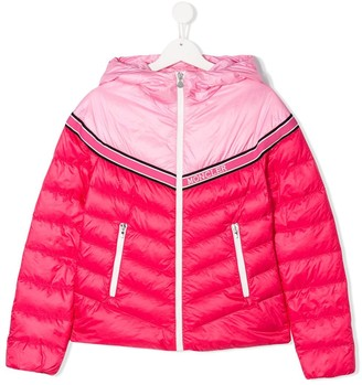 Moncler Enfant Contrast Panel Jacket