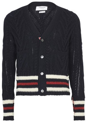 Thom Browne Aran Cable cardigan