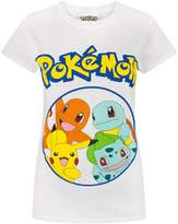 Pokemon Kanto Starters Women's T-Shirt (S)