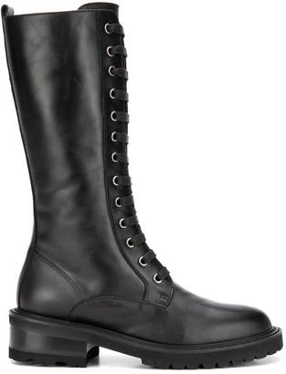 Via Roma 15 Lace Boots