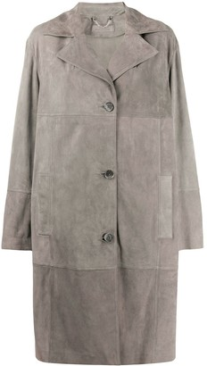 Desa 1972 Fitted Single-Breasted Coat