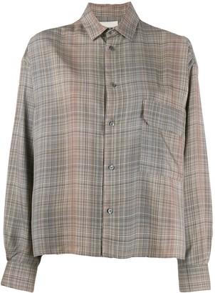Stephan Schneider plaid Conifers shirt
