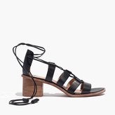 Madewell The Daniela Lace-Up Sandal