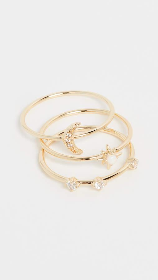 Luna Ring Set