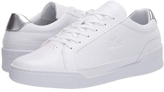 Lacoste Challenge 120 4 (White/Silver) Women's Shoes