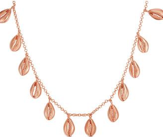 Sphera Milano 14K Rose Gold Over Silver Multi-Shell Necklace