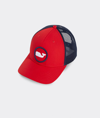 Vineyard Vines Whale Dot Performance Trucker Hat