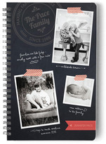 Minted Chalkboard Memories Day Planner, Notebook, or Address Book