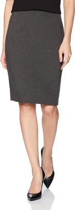 Kasper Women's Ponte Slim Skirt