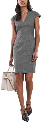Reiss Alber Wool-Blend Dress