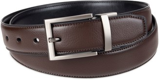 Apt. 9 Men's Comfort Stretch Brown/Black Reversible Dress Belt