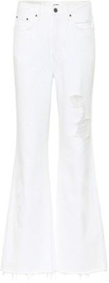 GRLFRND High-rise bootcut jeans