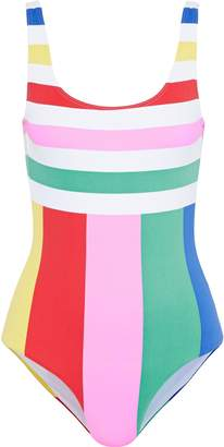 Onia Kelly Striped Swimsuit