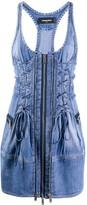 DSQUARED2 denim mini dress