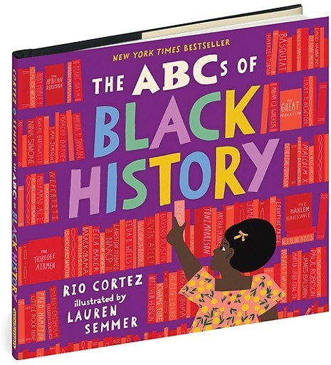 Thumbnail for your product : Workman Publishing The ABCs of Black History Hardcover Book