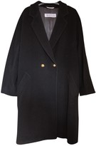 Marella Black Wool Coat for Women