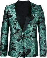 Christian Pellizzari jacquard floral blazer