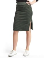 Gap Ribbed pencil skirt