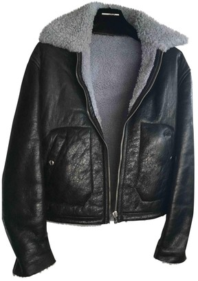 McQ Black Leather Leather Jacket for Women