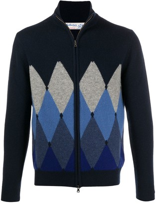 Ballantyne Zip-Up Jumper