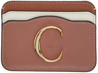 Chloé Pink C Card Holder