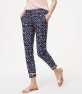 LOFT Floral Essential Skinny Ankle Pants in Julie Fit