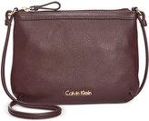 Calvin Klein Pebble Leather Crossbody