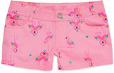 JCPenney Total Girl Print Twill Shorts - Girls 7-16 and Plus