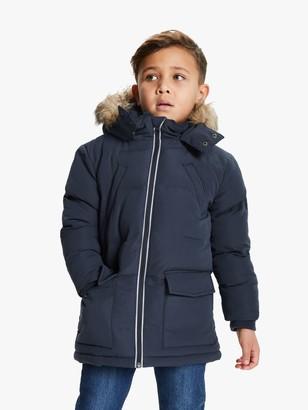 John Lewis & Partners Boys' Parka Coat, Navy