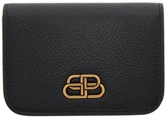 Balenciaga Black Mini BB Wallet