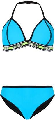 New Look Girls Surf Tape Bikini Set