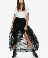 Free People Dreaming Tutu Maxi Skirt