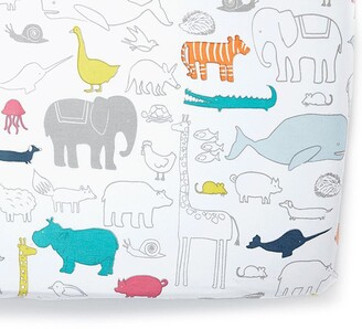 Pehr Noahs Ark Cotton Crib Sheet