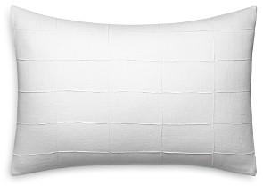 Vera Wang Linear Tucks Decorative Pillow, 15 x 22