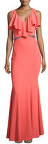 Zac Posen ZAC Faviana Belted Mermaid Gown