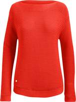 Lauren Ralph Lauren Ralph Lauren Ribbed Cotton Boatneck Sweater