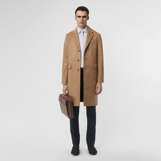 Burberry Wool Cashmere Tailored Coat