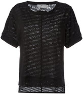 adidas by Stella McCartney The Cool Logo T-shirt - women - Cotton/Polyester - S