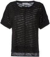 adidas by Stella McCartney The Cool Logo T-shirt - women - Cotton/Polyester - XS
