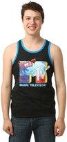 Novelty T-Shirts mens MTV Spring Break '87 Men's Ringer Tank Top