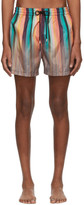 Paul Smith Multicolor Artist Clash Swim Shorts