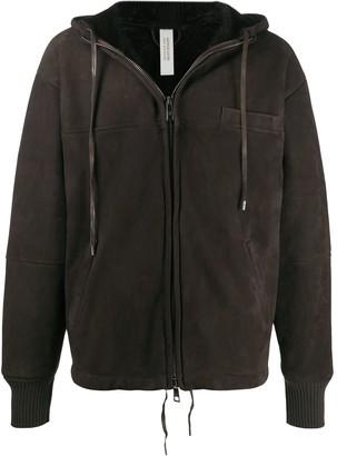 Giorgio Brato Hooded Sheepskin Jacket
